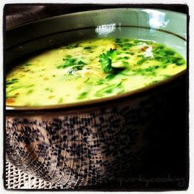 Quirky Cooking: Coconut Lemon Chicken Soup - Substitute chicken with veggies for vegetarian cooking