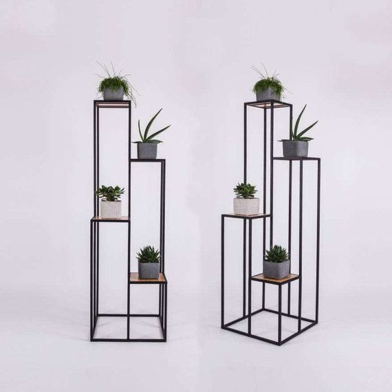 Bookshelf / Bookcase/ Flower stand  TONA by SparkCraftWorkshop