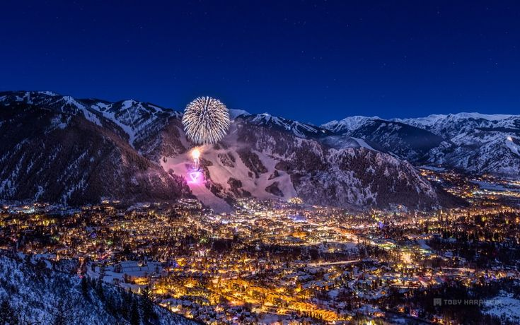 Aspen Colorado New Years 2015 by Toby Harriman