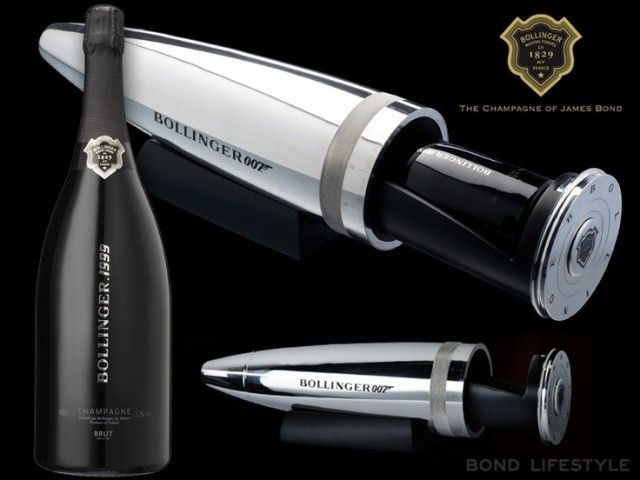 Bollinger 007 Bullet Cooler Wine And Bar Accessories
