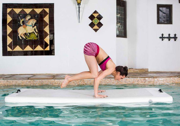 Aquaphysical: o treino com tapete de ioga flutuante