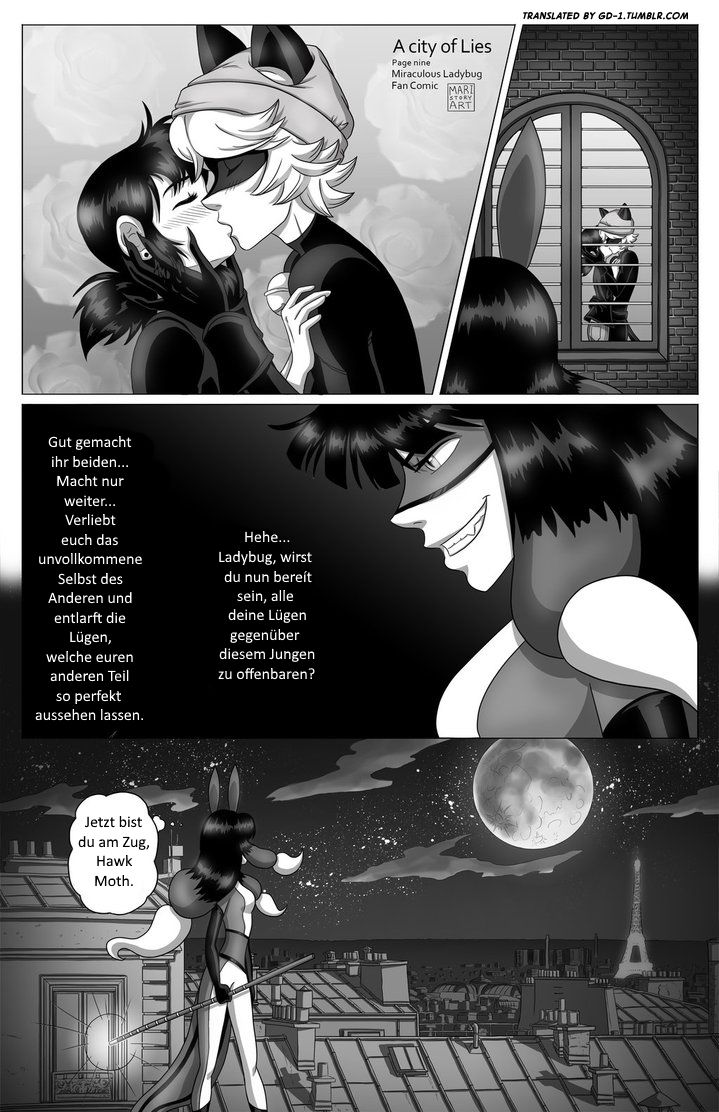 Kapitel 1 - Seite 9 - Ein Comic zu Miraculous Ladybug __________________________________________________________________________________ Übersetzt mit der Erlaubnis von / Translated with the permission of maristoryart.tumblr.com __________________________________________________________________________________ Für mehr Übersetzungen besucht gd-1.tumblr.com