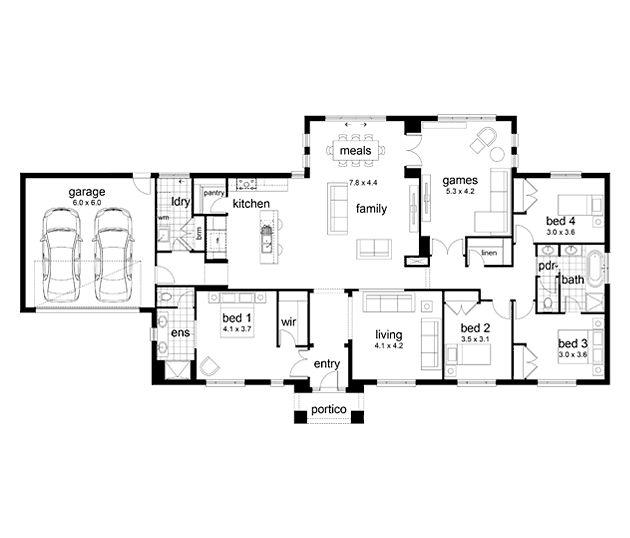 Devonport By Dennis Family Homes   New Acreage Home Design 4 Beds Baths 2  Car Garage Up To Squares