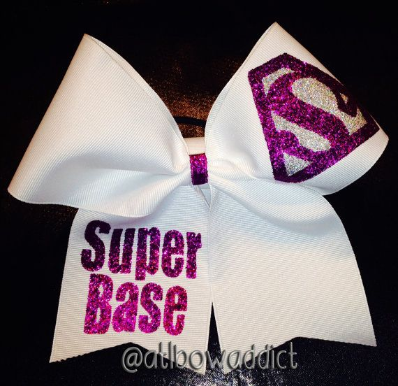 Cheer Bow Super Base by AtlBowAddict on Etsy