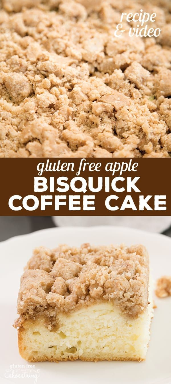 Better Bisquick Coffee Cake
