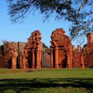 Ruinas de San Ignacio, Antigua Iglesia jesuitica en Misiones Argentina