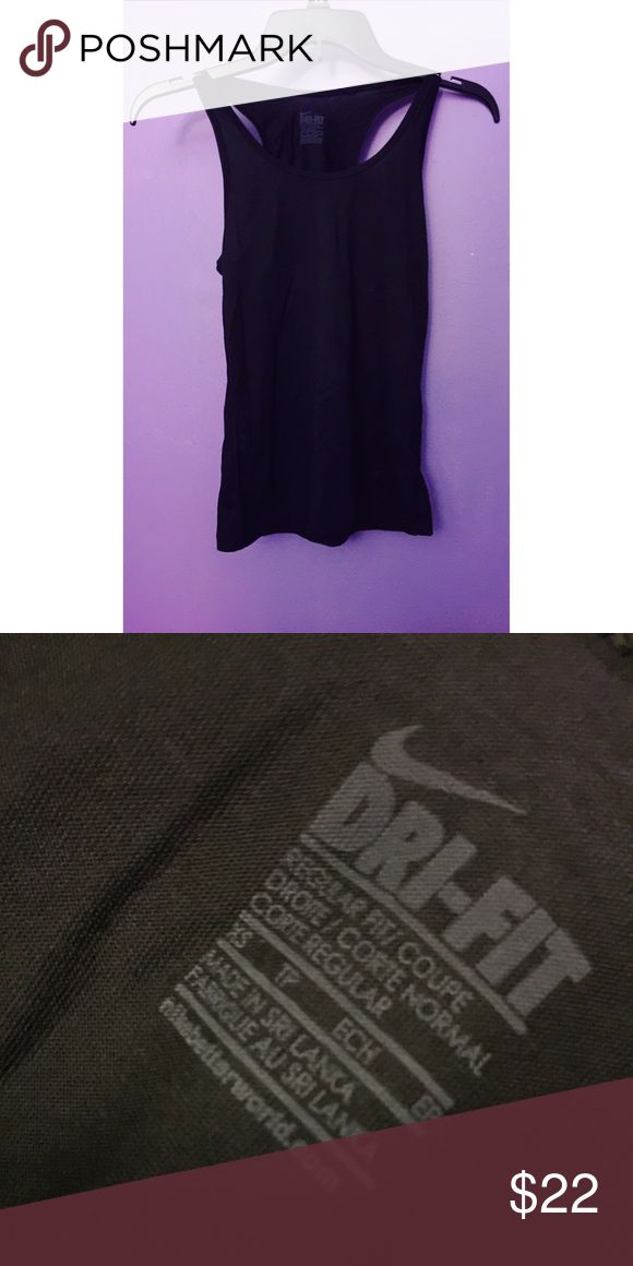 NIKE ✔️ Dri-Fit Workout Tank Top - NWOT BRAND NEW Nike tank top! NWOT. I never wore it, other than to try it on. It's very cute & lightweight - perfect for the gym/on a run! Size: Extra Small, Fit: Regular Fit. Nike Tops Tank Tops