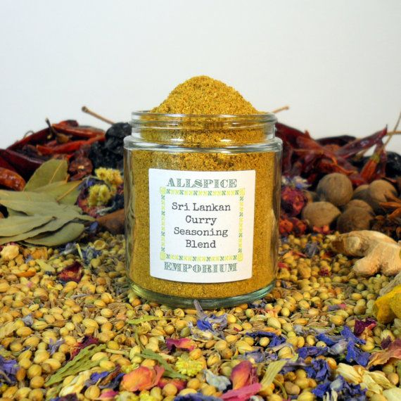 Sri Lankan Curry Seasoning Blend Asian Curry by ALLSPICEEMPORIUM