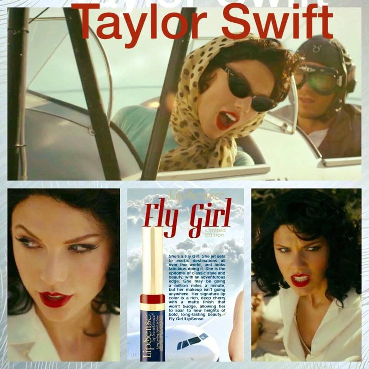 Kiss And Makeup On Site: Taylor Swift Wearing Fly Girl Www.senegence.com/LuvMyLips