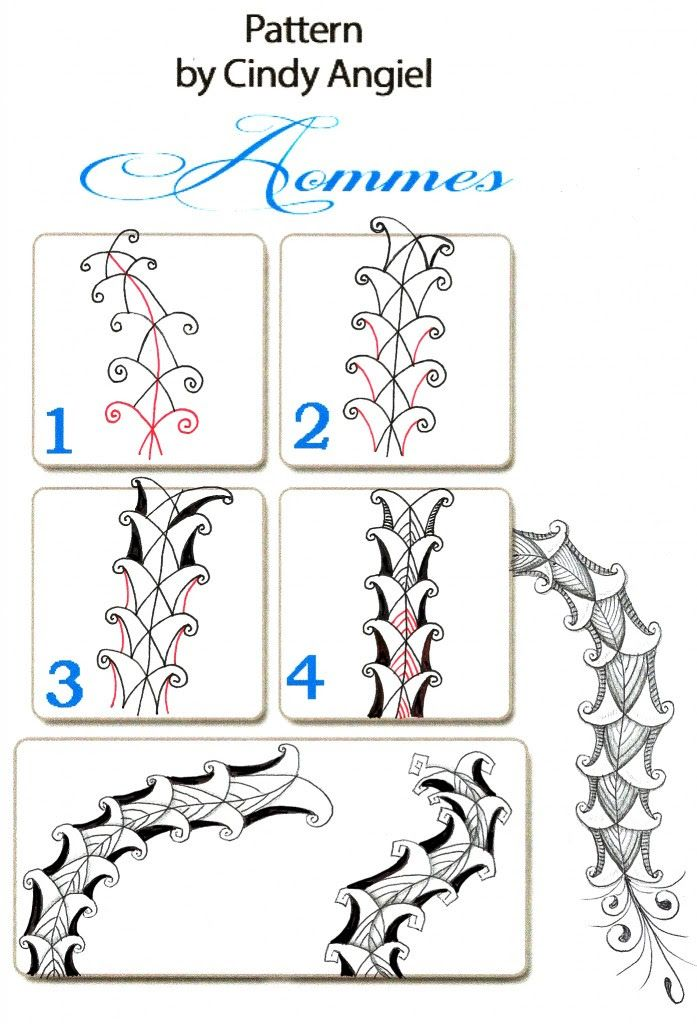 1183 best zentangle pattern steps how to draw images for How to draw doodles step by step