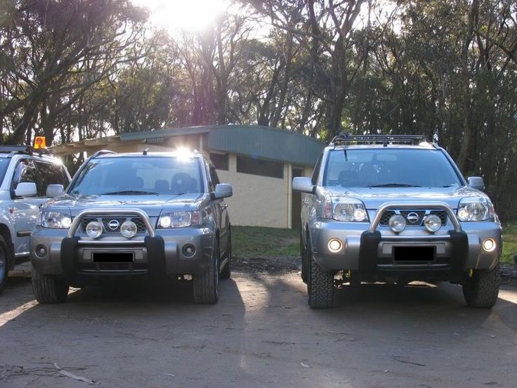 two xtrail Xtrail Pinterest Nissan and 4x4