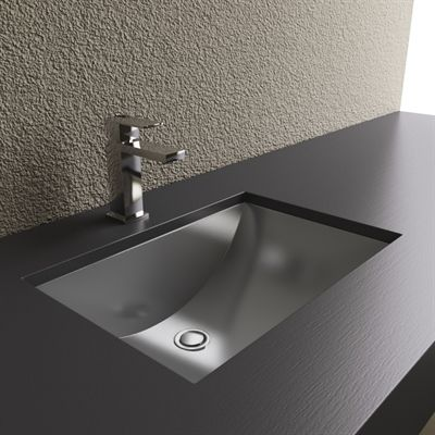 Cantrio Koncepts Ms 012 Steel Series Stainless Bathroom Sink Products Undermount Sinks