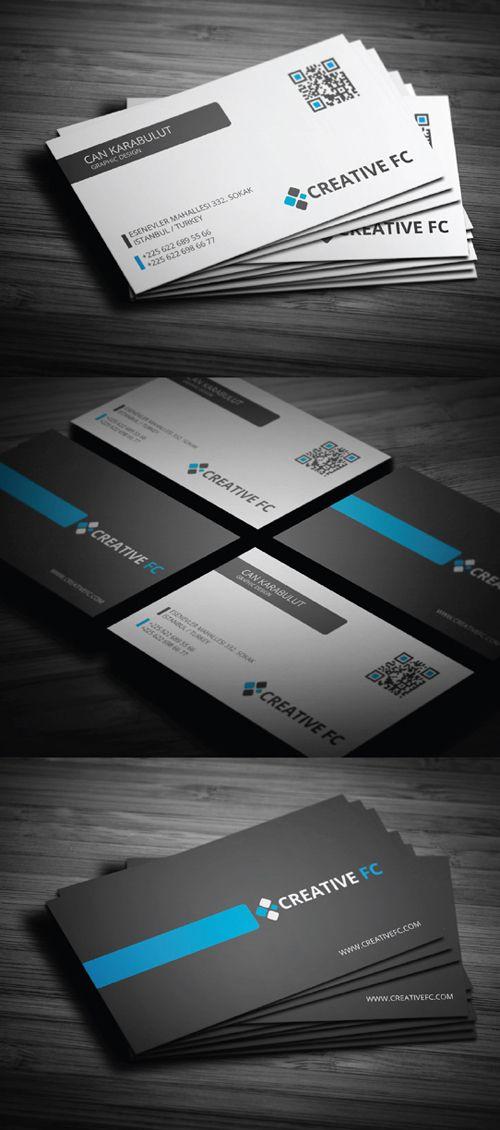 Creative Corporate Business Card Designs Roundup #1 | Design