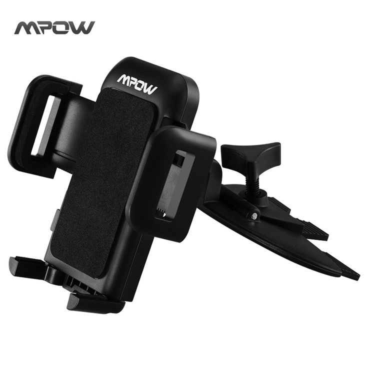 Mpow MCM3 360 Degree Rotation Grip Pro 2 Universal CD Slot Car Mount Holder Stand for iPhone 6S/6/5S Samsung and Other Phones