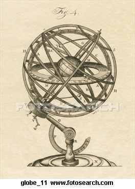 Antique Illustratration Of Armillary Sphere   Armillary ...