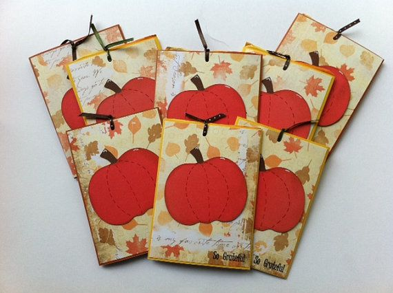 Thanksgiving Favors Fall Party Favors  So by NatashaCrafts on Etsy