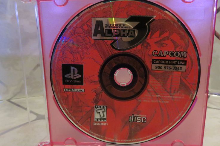 Street Fighter Alpha 3 (Sony PlayStation 1, 1999) PS1, Rated T, DISC ONLY #Capcom