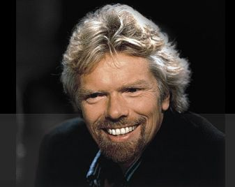 Sir Richard Branson - a famous person with dyslexia. An online dyslexia screening test.