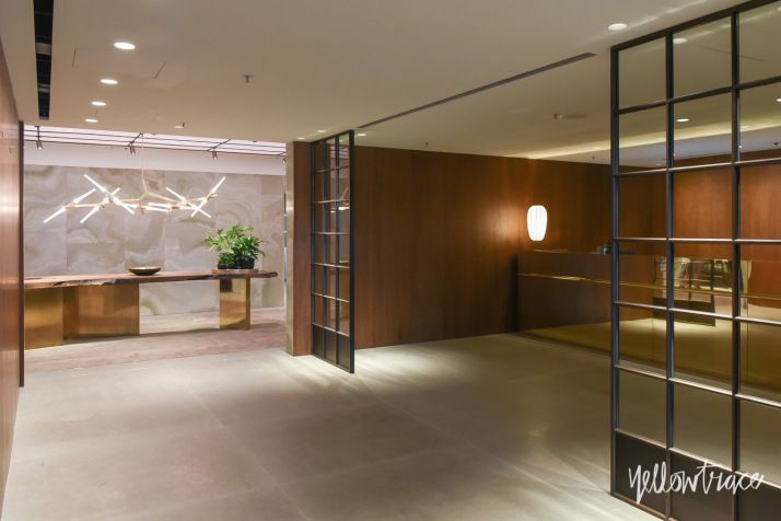 Cathay Pacific's The Pier First Class Lounge in Hong Kong.