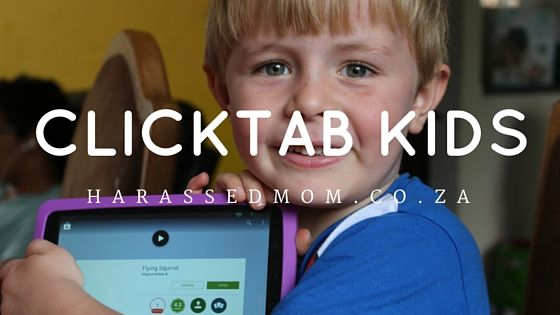 {Product Review} Incredible Connection ClickTab Kids 7 tablet - An harassed but happy mommy blogger