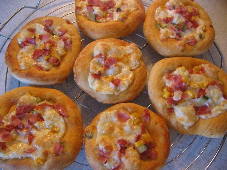 0827. minipizza od Anndy - recept pro domácí pekárnu