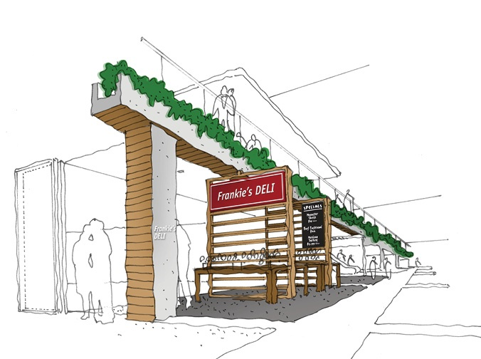 Toga Group Shopping Centre Development Conceptual Thinking by e2.