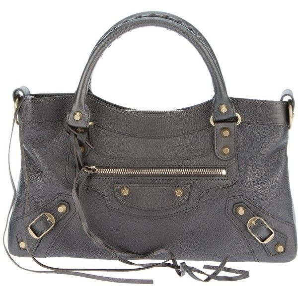 BALENCIAGA 'Classic First' bag ($1,535) ❤ liked on Polyvore