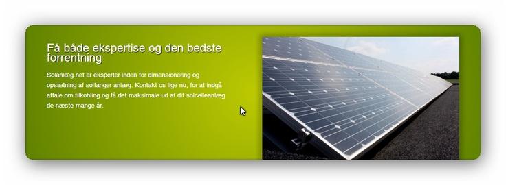 Solanpaneler og Solcelleanlæg til erhverv, industri og virksomheder    Der er mange fordele med solceller og solenergi for erhverv, industri og virksomheder. Et solcelleanlæg er ofte langt nemmere at montere hos virksomheder, end hos private, da erhvervsgrunde typisk er større og mere tilgængelige end på en privatbolig.