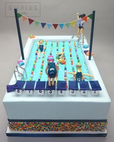 Olympic Swimming Pool   Empire Cake