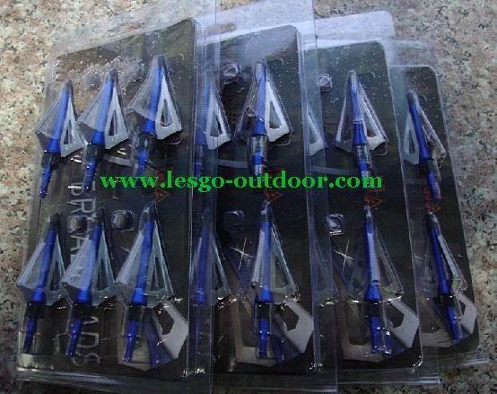 Source New Beast hunting arrow broadheads 100GR 3-blades on m.alibaba.com