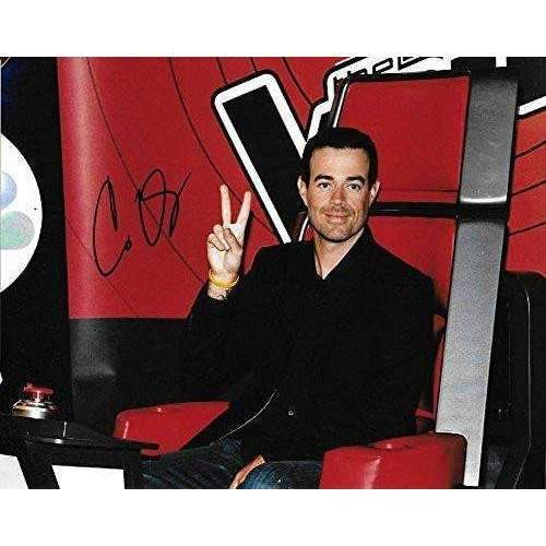 Carson Daly, TV Show Host, Signed, Autographed, 8x10 Photo, A COA Will Be Included, Star