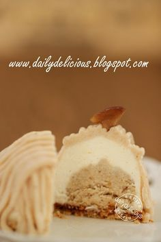 dailydelicious: Mont Blanc, Sweet Chestnut desserts: Finally I did it!