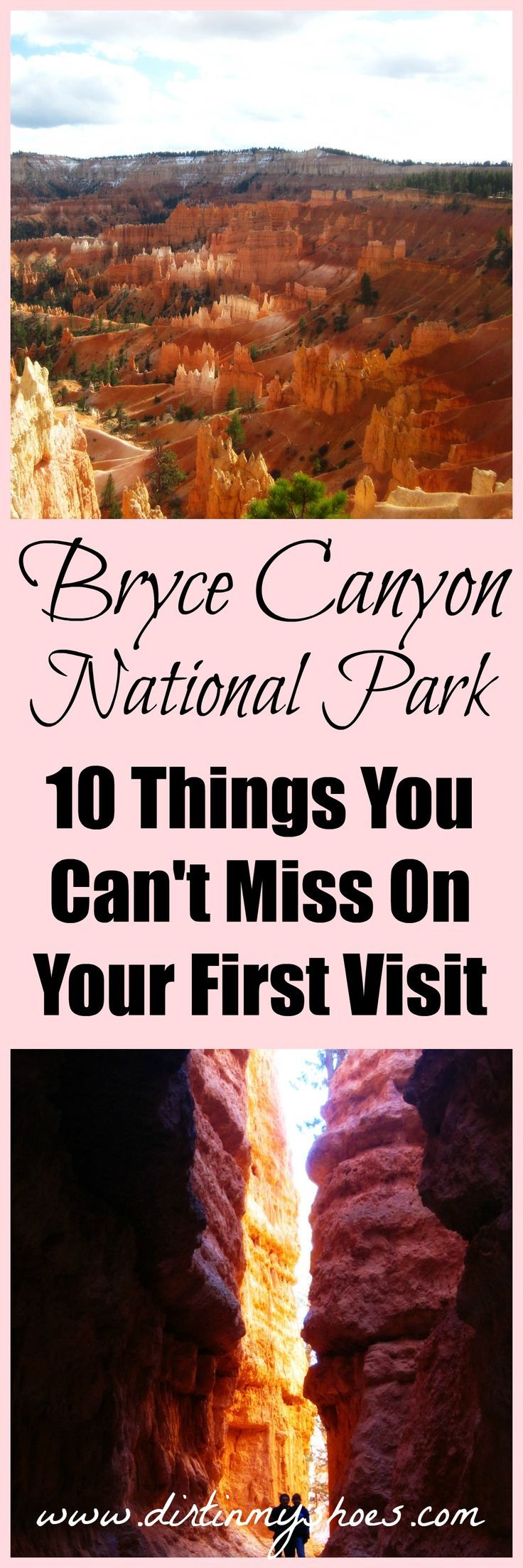 Bryce Canyon National Park || Explore the hoodoos of Bryce Canyon with this awesome list of 10 things you can't miss!