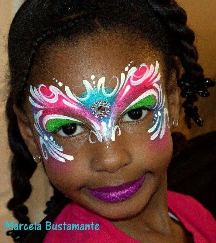 beautiful - Halloween Face Painting For Girls