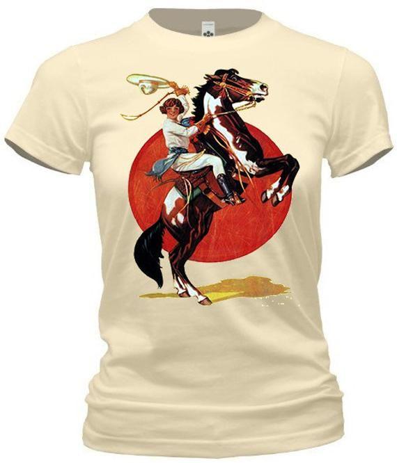 332a4c2ee Vintage Cowgirl Tee | Western Tee Shirts | Vintage cowgirl, Vintage ...