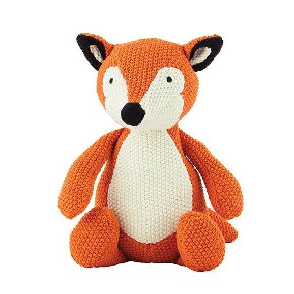 Fox Soft Toy - www.koop.co.nz