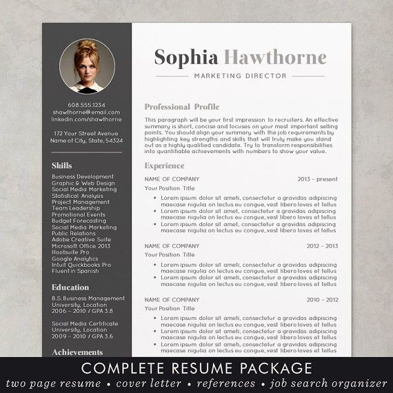 Best Cv Images On   Curriculum Design Resume And Resume