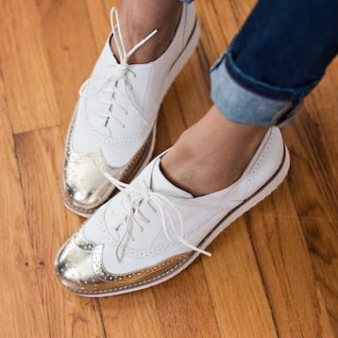 Nine West: Shoes > Flats & Ballerinas > Vinata Lace-Up Oxfords