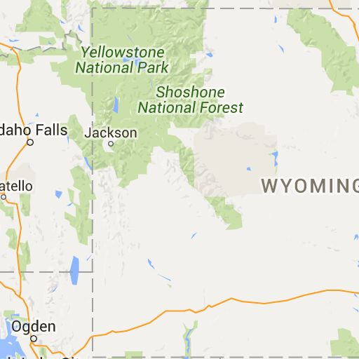 2017 Wyoming Dot Road Conditions Map
