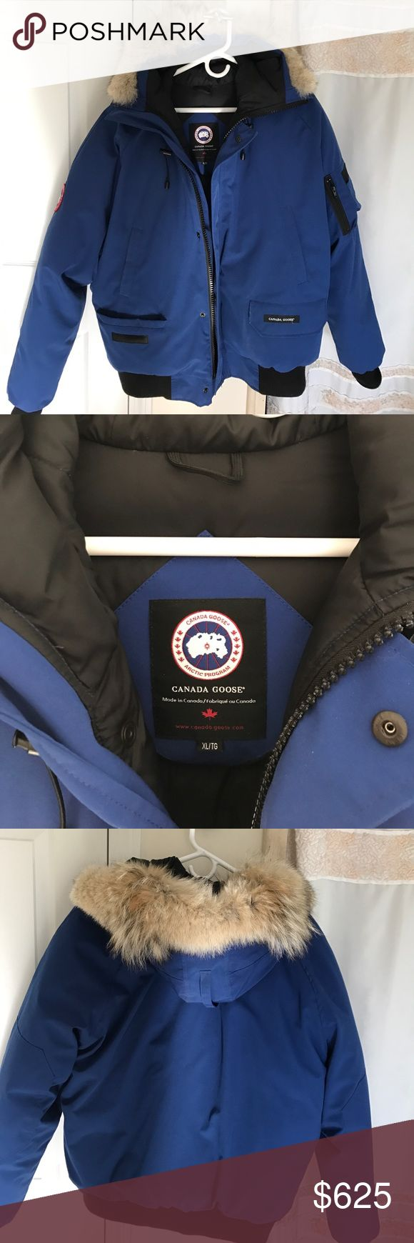 Canada goose authentic jacket This beautiful winter men's jacket is a must have! Super worm. In outstanding condition, only used twice. Canada Goose Jackets & Coats Puffers