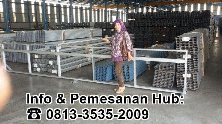 Produk C-Truss Kami di Gudang Surabaya