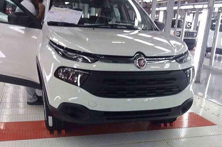 PORTAL JORGE GONDIM: VRUM - Vazou de novo! Fotos Picape Fiat Toro está confirmado para 2016 mostram picape Fiat To...