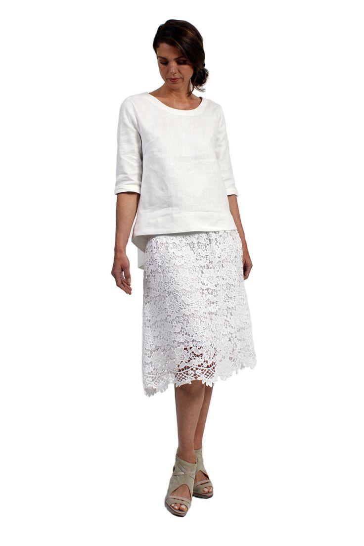 Italian Linen Grace Tunic - Surafina