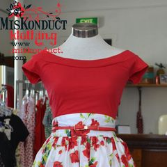 Marilyn Top Red