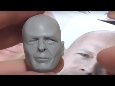 Uma video aula passo a passo de como trabalhar com esta massa fantástica que é a super sculpey firm (polymer clay) e ainda criar uma cabeça masculina complet...