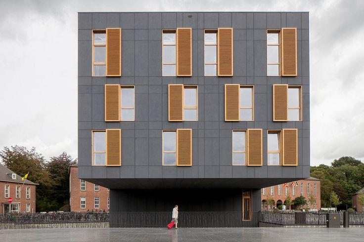 Fiber Cement - City square Mortsel / ABSCIS Architecten
