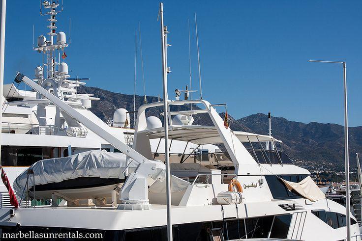 Big boats in Puerto Banus