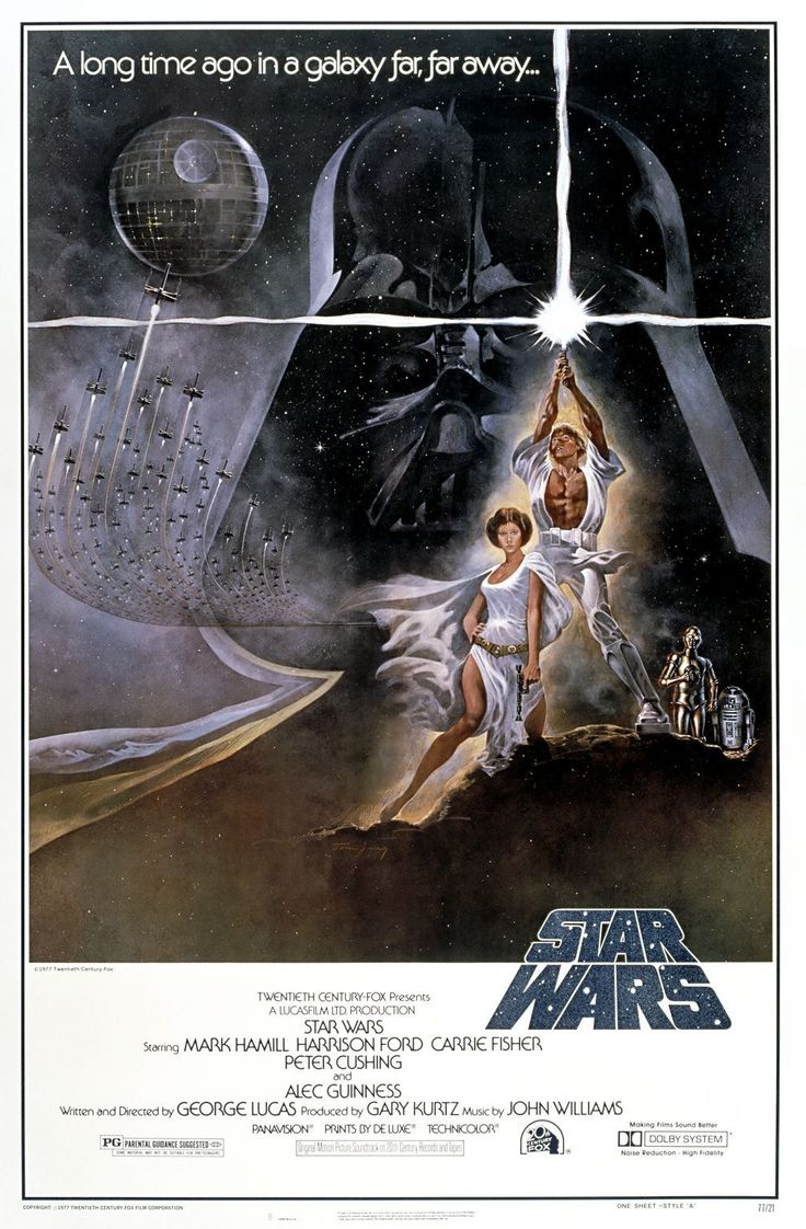 Poster design top 10 -  Star Wars 1977 From Karl Huddelston S Top 10 Favorites And Guilty Pleasures