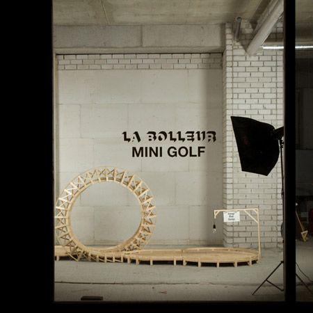 Mini Golf Club by La Bolleur - Dezeen