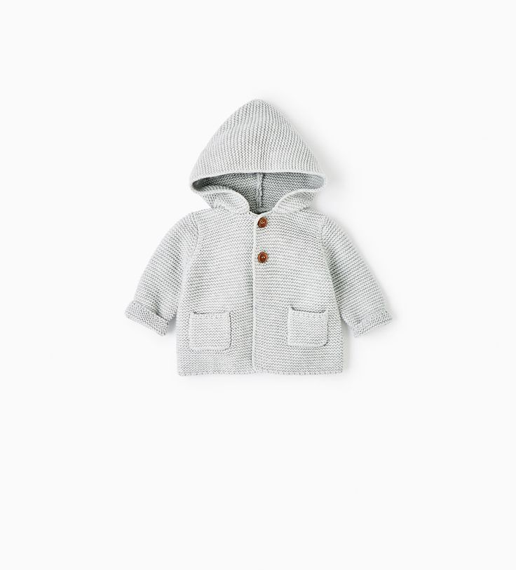 KNIT JACKET WITH HOOD-COLLECTION-MINI | 0-12 months-COLLECTION SS/17 | ZARA United States